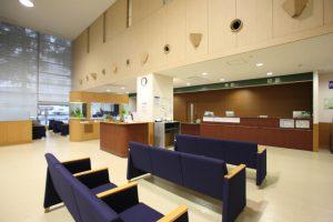 病院の受付イメージ
